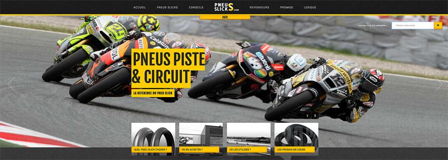 pneus piste et circuit
