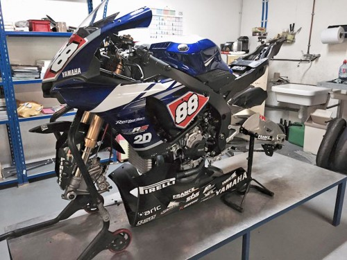 yamaha r1 team mrs ex Kev Coghlan
