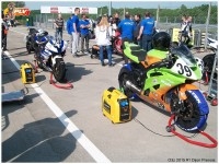 Structure d'accueil sur les championnats de vitesse