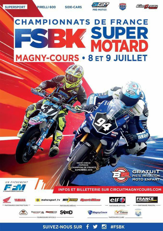 FSBK Magny-Cours 2017
