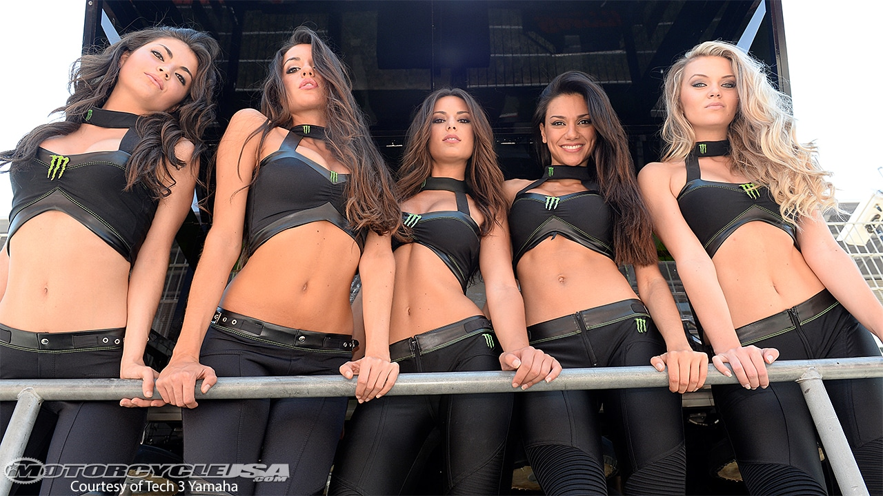 Monster Girls Moto GP