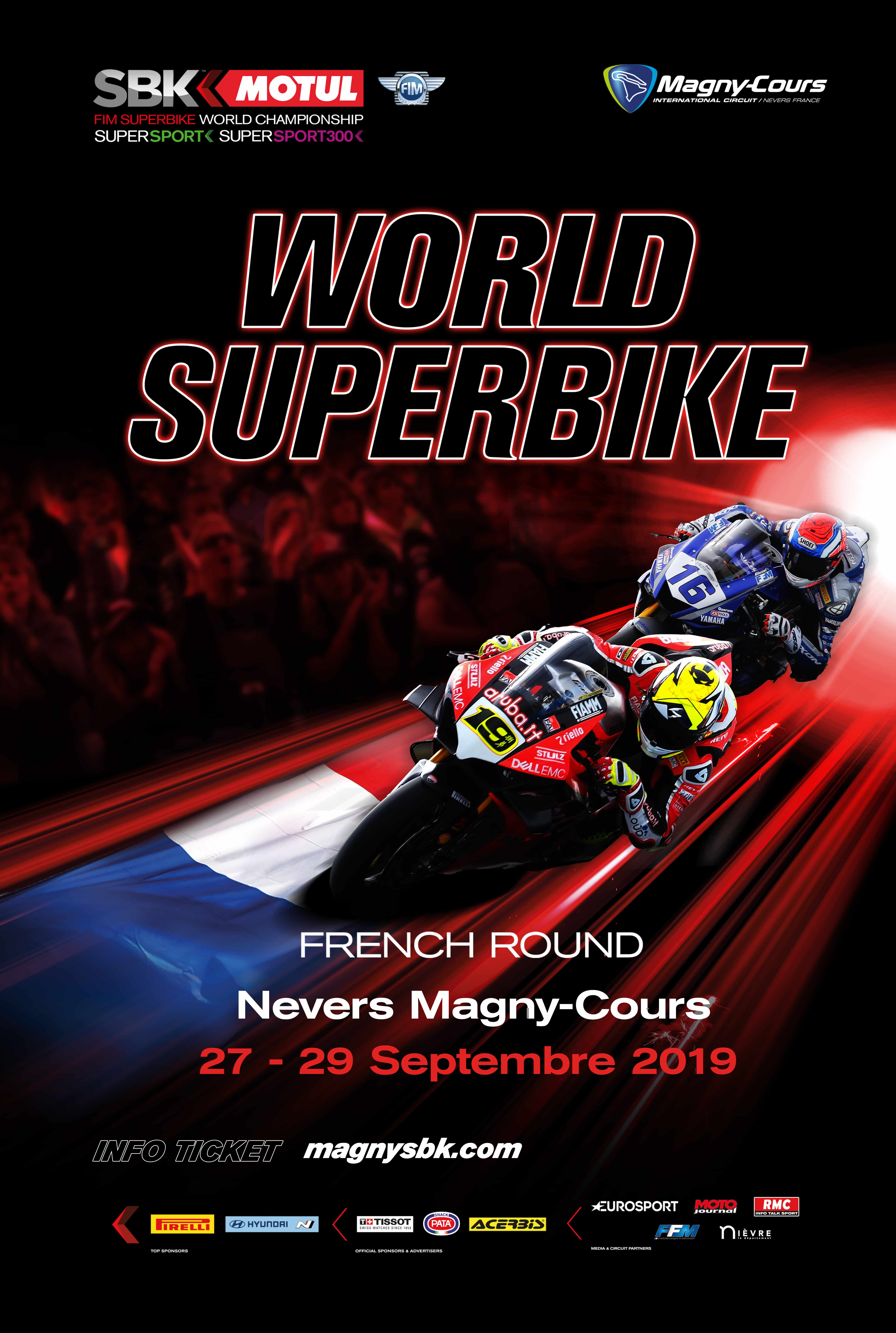 Calendrier Magny Cours 2020.Superbike Sbk Magny Cours 2019 Nevers Championnat Du Monde