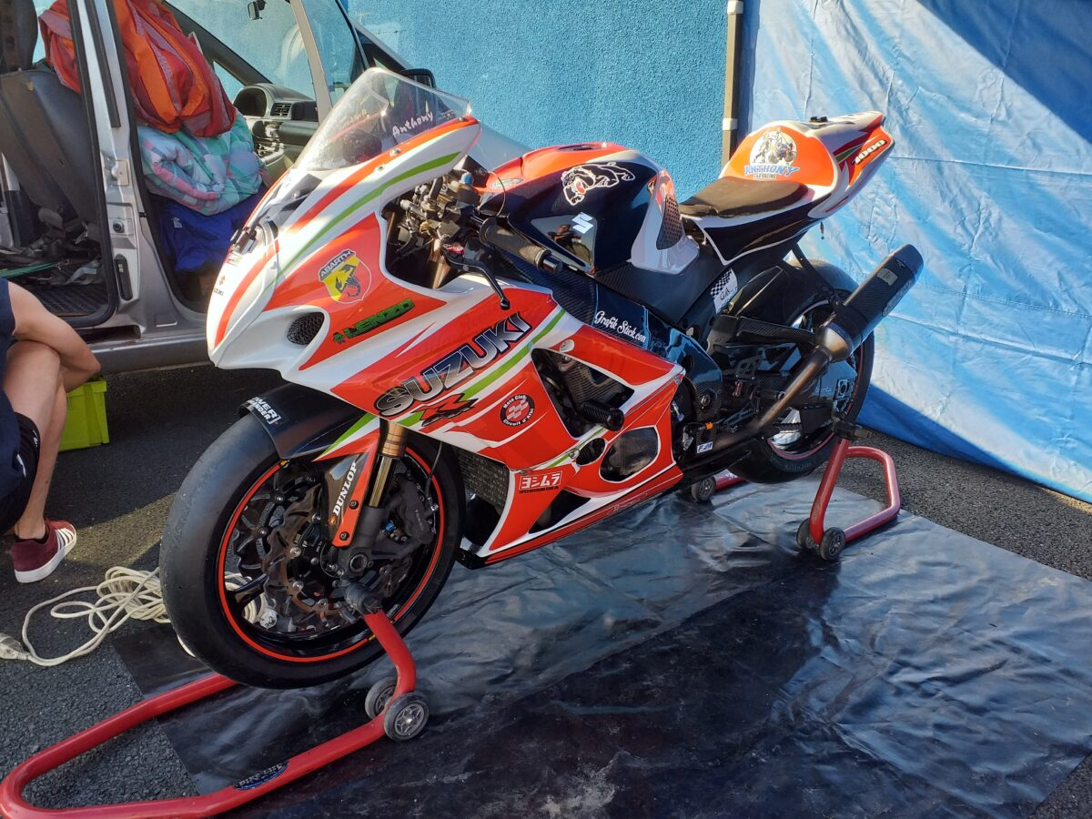 SUZUKI 1000 GSXR 2008