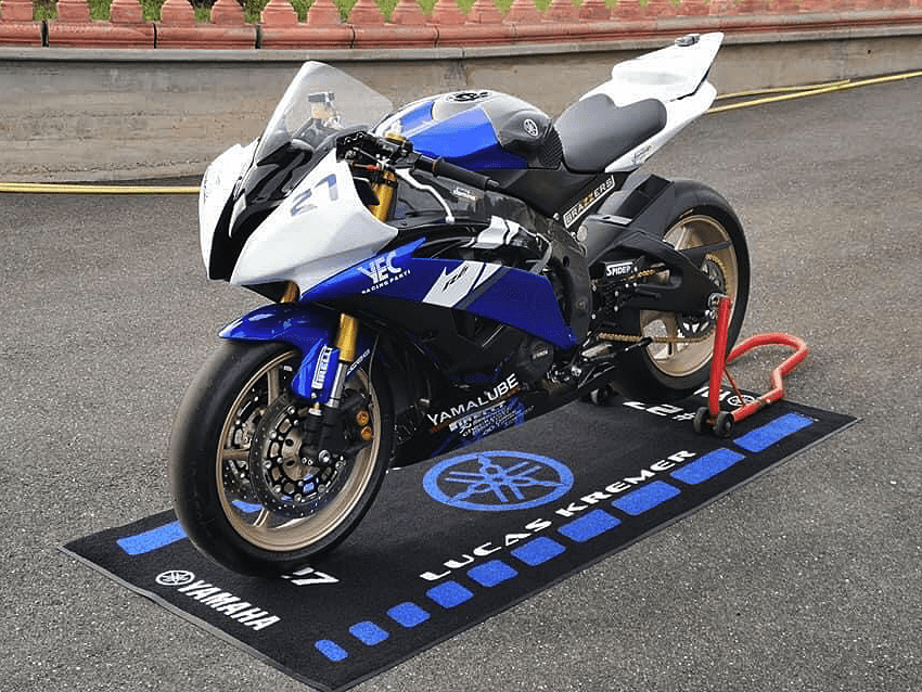 tapis de sol moto environnemental sur mesure